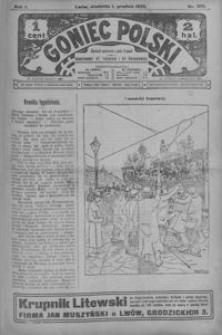 Goniec Polski. 1907, R. 1, nr 265-285 (grudzień)