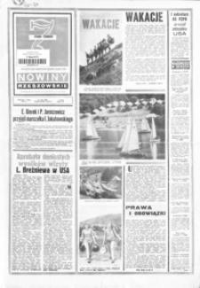 Nowiny Rzeszowskie : organ KW Polskiej Zjednoczonej Partii Robotniczej. 1973, nr 179-208 (lipiec)