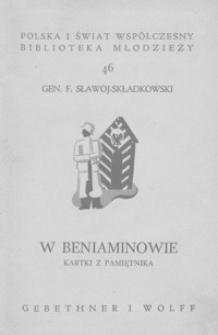 W Beniaminowie : kartki z pamiętnika z 8 ilustracjami