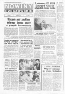 Nowiny Rzeszowskie : organ KW Polskiej Zjednoczonej Partii Robotniczej. 1974, nr 31-58 (luty)