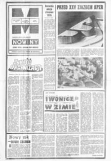 Nowiny : dziennik Polskiej Zjednoczonej Partii Robotniczej. 1976, nr 1-25 (styczeń)