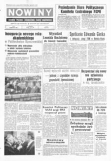 Nowiny : dziennik Polskiej Zjednoczonej Partii Robotniczej. 1976, nr 224-248 (październik)