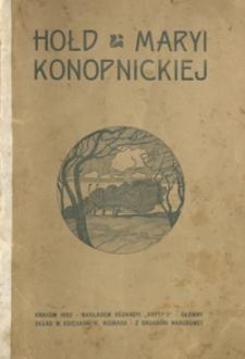 Hołd Maryi Konopnickiej