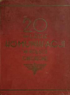 20-lecie komunikacji w Polsce odrodzonej