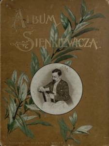 Album jubileuszowe Henryka Sienkiewicza : główniejsze sceny i postacie w dwudziestu illustracyach: Józefa Brandta [et al.]