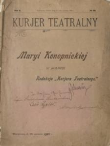 Kurjer Teatralny : tygodnik artystyczny poświęcony sprawom teatru i muzyki. 1902, R. 2, nr 26 (15 (28) czerwca)