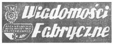 Wiadomości Fabryczne : pismo Samorządu Robotniczego Wytwórni Sprzętu Komunikacyjnego im. J. Tkaczowa w Rzeszowie. 1969, R. 18, nr 34 (11-20 grudnia)
