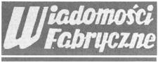 """Wiadomości Fabryczne : pismo Wytwórni Sprzętu Komunikacyjnego """"PZL Rzeszów"""" Zakład Pracy Socjalistycznej odznaczonej Orderem Sztandaru Pracy I Klasy. 1989, R. 38, nr 22 (8 września)"""