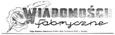 Wiadomości Fabryczne : organ Komitetu Zakładowego PZPR i Rady Zakładowej WSK - Rzeszów. 1954, R. 3, nr 20 (31 grudnia)
