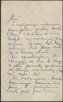 [List Marii Konopnickiej do Józefa Wiśniowskiego, 22.09.1901]