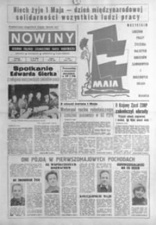 Nowiny : dziennik Polskiej Zjednoczonej Partii Robotniczej. 1980, nr 98-123 (maj)