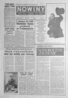 Nowiny : dziennik Polskiej Zjednoczonej Partii Robotniczej. 1980/1981, nr 283, 1-21 (grudzień / styczeń)