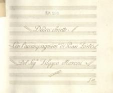 Dodici Ariette con l'accompagnamento di Pian Forte