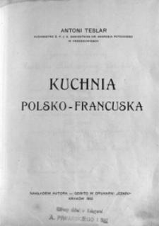 Kuchnia polsko-francuska