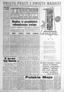 Nowiny : dziennik Polskiej Zjednoczonej Partii Robotniczej. 1982, nr 85-106 (maj)