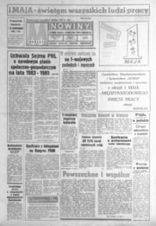 Nowiny : dziennik Polskiej Zjednoczonej Partii Robotniczej. 1983, nr 101-127 (maj)