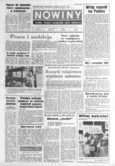 Nowiny : dziennik Polskiej Zjednoczonej Partii Robotniczej. 1983, nr 206-231 (wrzesień)