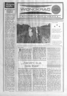 Widnokrąg : kultura, nauka, oświata. 1985, nr 17 (9 lipca)