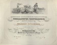 [Dyplom członka honorowego Cesarsko Królewskiego Galicyjskiego Towarzystwa Gospodarskiego dla Alfreda Potockiego]