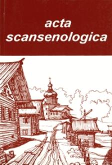 Acta Scansenologica. 1995, T. 7
