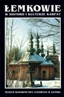 Łemkowie w historii i kulturze Karpat. Cz. 1