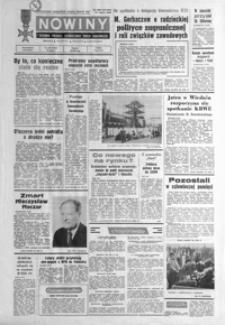 Nowiny : dziennik Polskiej Zjednoczonej Partii Robotniczej. 1986, nr 255-279 (listopad)