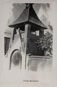 Krosno : Alter Glockenturm [Fotowidokówka]