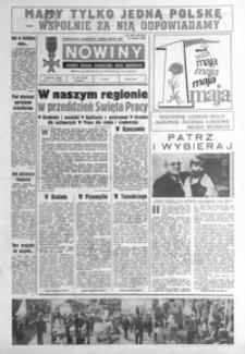 Nowiny : dziennik Polskiej Zjednoczonej Partii Robotniczej. 1987, nr 100-125 (maj)