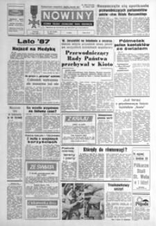 Nowiny : dziennik Polskiej Zjednoczonej Partii Robotniczej. 1987, nr 151-176 (lipiec)