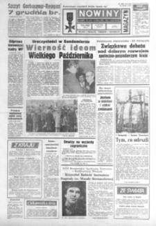 Nowiny : dziennik Polskiej Zjednoczonej Partii Robotniczej. 1987, nr 255-280 (listopad)