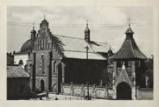 [Krosno. Kościół OO. Franciszkanów z renesansową kaplicą Oświęcimów] [Fotowidokówka]