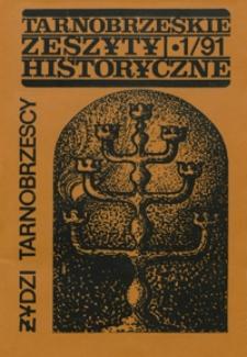 Tarnobrzeskie Zeszyty Historyczne. 1991, nr 1 (wrzesień)