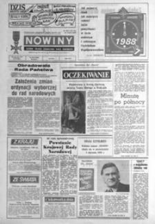 Nowiny : dziennik Polskiej Zjednoczonej Partii Robotniczej. 1987/1988, nr 305, nr 1-24 (grudzień / styczeń)