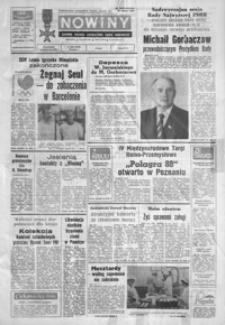 Nowiny : dziennik Polskiej Zjednoczonej Partii Robotniczej. 1988, nr 229-253 (październik)