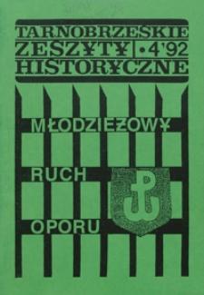 Tarnobrzeskie Zeszyty Historyczne. 1992, nr 4 (wrzesień)