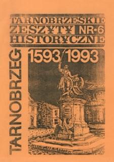 Tarnobrzeskie Zeszyty Historyczne. 1993, nr 6 (maj)