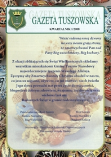 Gazeta Tuszowska. 2008, nr 1