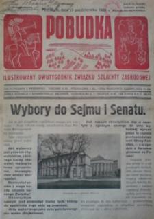 Pobudka : ilustrowany dwutygodnik Związku Szlachty Zagrodowej. 1938, R. 4, nr 20 (październik)