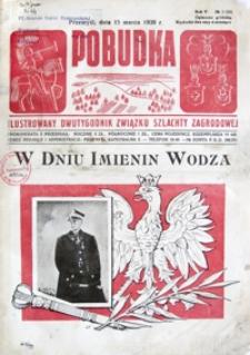 Pobudka : ilustrowany dwutygodnik Związku Szlachty Zagrodowej. 1939, R. 5, nr 6 (marzec)