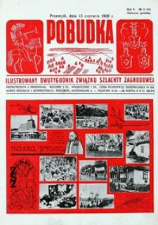 Pobudka : ilustrowany dwutygodnik Związku Szlachty Zagrodowej. 1939, R. 5, nr 12 (czerwiec)