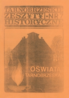 Tarnobrzeskie Zeszyty Historyczne. 1993, nr 7 (listopad)