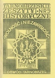Tarnobrzeskie Zeszyty Historyczne. 1995, nr 9 (marzec)