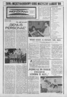 Widnokrąg : kultura, nauka, oświata. 1989, nr 28 (11 lipca)