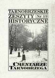 Tarnobrzeskie Zeszyty Historyczne. 1998, nr 19 (październik)
