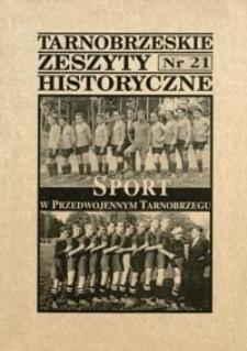 Tarnobrzeskie Zeszyty Historyczne. 2000, nr 21 (październik)