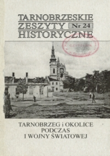 Tarnobrzeskie Zeszyty Historyczne. 2004, nr 24 (czerwiec)