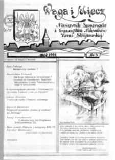 Waga i Miecz : miesięcznik Samorządu i Towarzystwa Miłośników Ziemi Strzyżowskiej. 1991, [R. 1], nr 3 (maj)