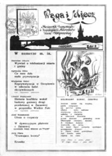 Waga i Miecz : miesięcznik Samorządu i Towarzystwa Miłośników Ziemi Strzyżowskiej. 1991, [R. 1], nr 6 (sierpień)