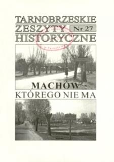 Tarnobrzeskie Zeszyty Historyczne. 2005/2006, nr 27 (grudzień/styczeń)