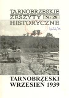 Tarnobrzeskie Zeszyty Historyczne. 2006/2007, nr 28 (grudzień/styczeń)